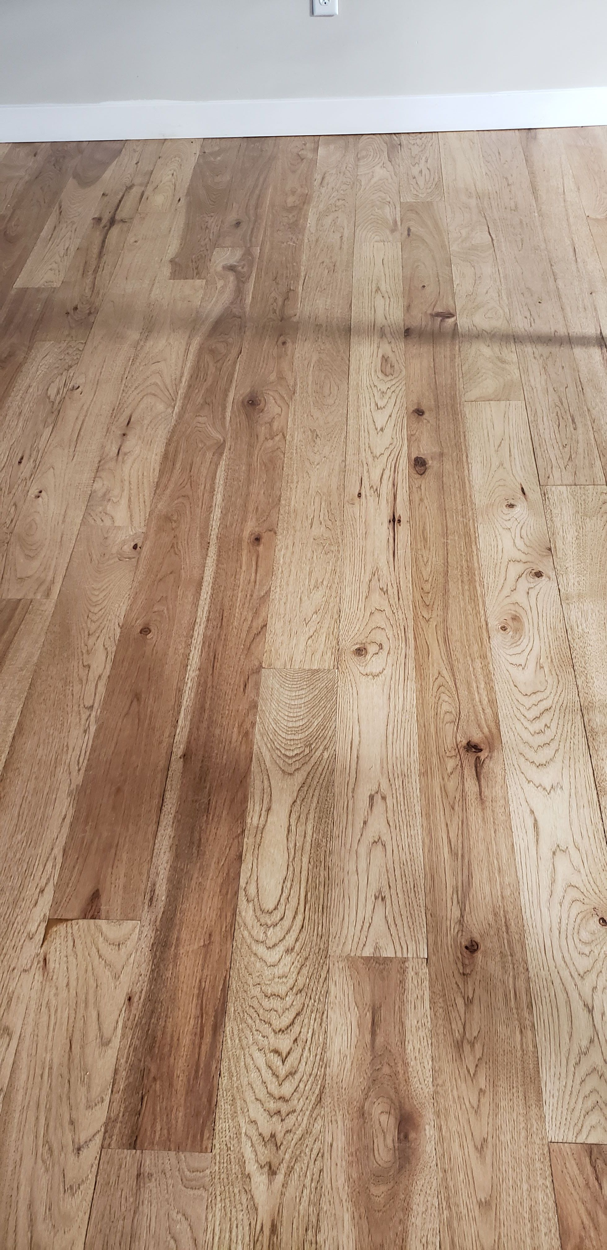Stained Hickory Floors In 2020 Hickory Flooring Hickory Hardwood Floors Hardwood Floors