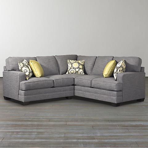 L Shaped Sectional From Bassett Small L Shaped Sofa Small Sectional Sofa L Shaped Sofa