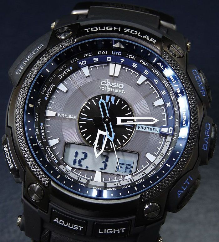 what is the best casio pathfinder watch | Casio PROTREK Pathfinder Atomic Solar Watch PRW5000Y 1 | eBay