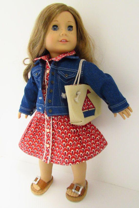 American Girl Doll Clothes: Summer at Seashore Yacht Club. $42.00.