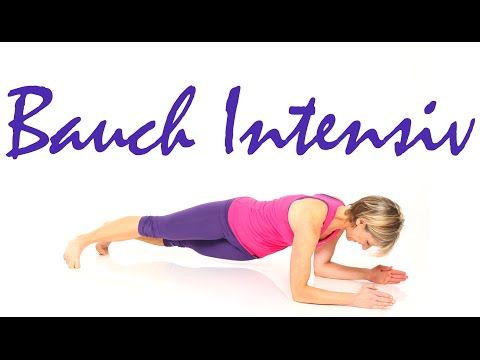 10 min. Bauch intensiv mit Gabi Fastner - YouTube #pilatesworkoutvideos