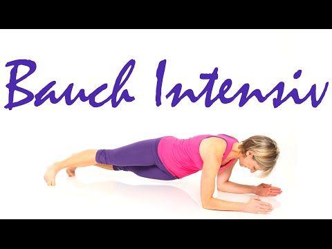 10 min. Bauch intensiv mit Gabi Fastner - YouTube #fitnessvideos