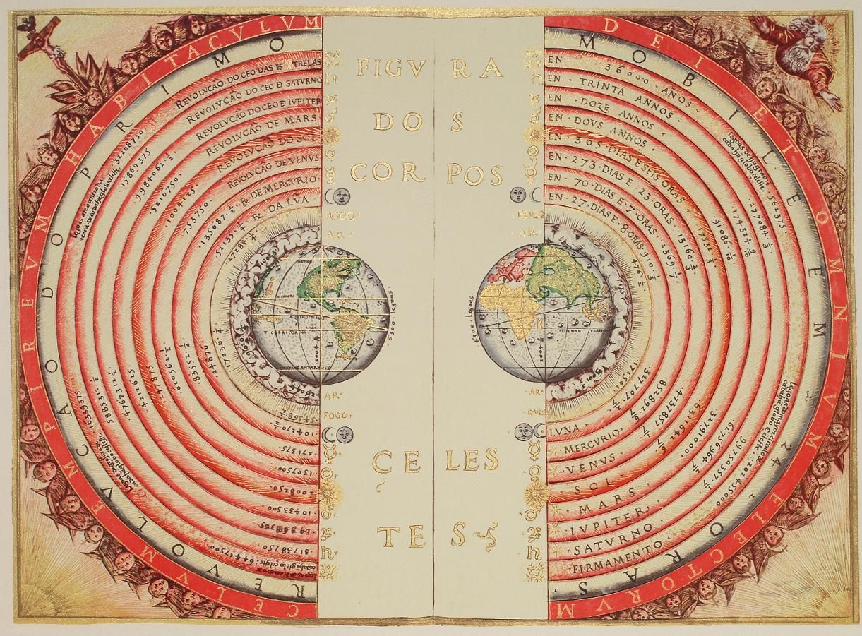 Ptolemy World Map From The Time When Prevailing Thought Was That