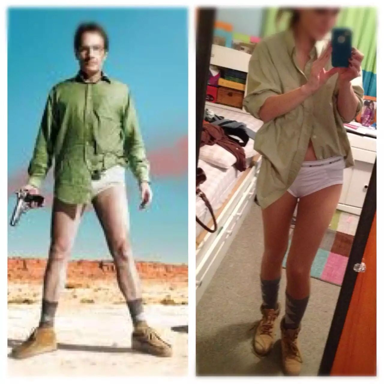Sexy breaking bad costume idea. Walter white | Costume ...