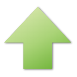 Green Up Arrow Icon Up Arrow Icon Free Icons