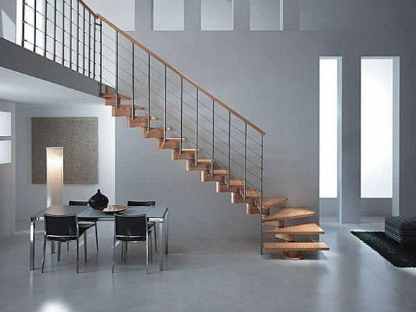 Small stairs for small spaces