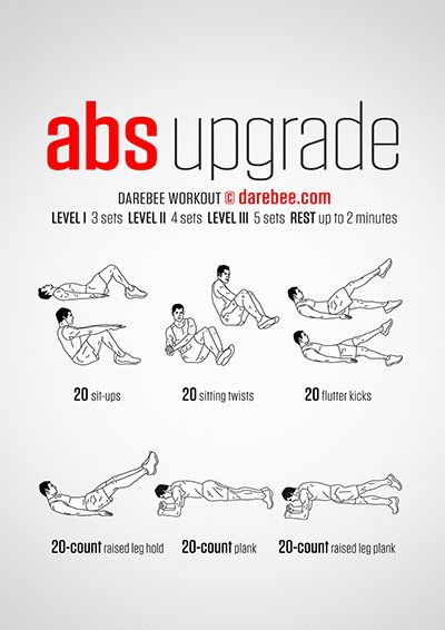Abs Upgrade Workout Daily WorkoutsAb