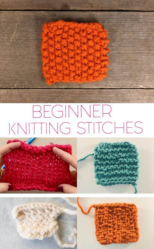 Photo of 5 Basic Knitting Stitches for Beginners – Gina Michele