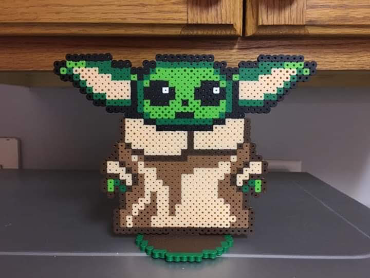 Perler Yoda Star Wars Bugelperlen Bugelperlen Bilder