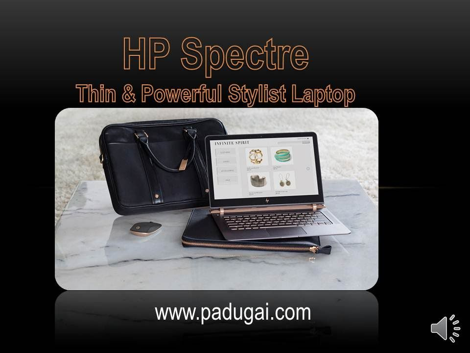 Hp spectre laptop pre booking available on online