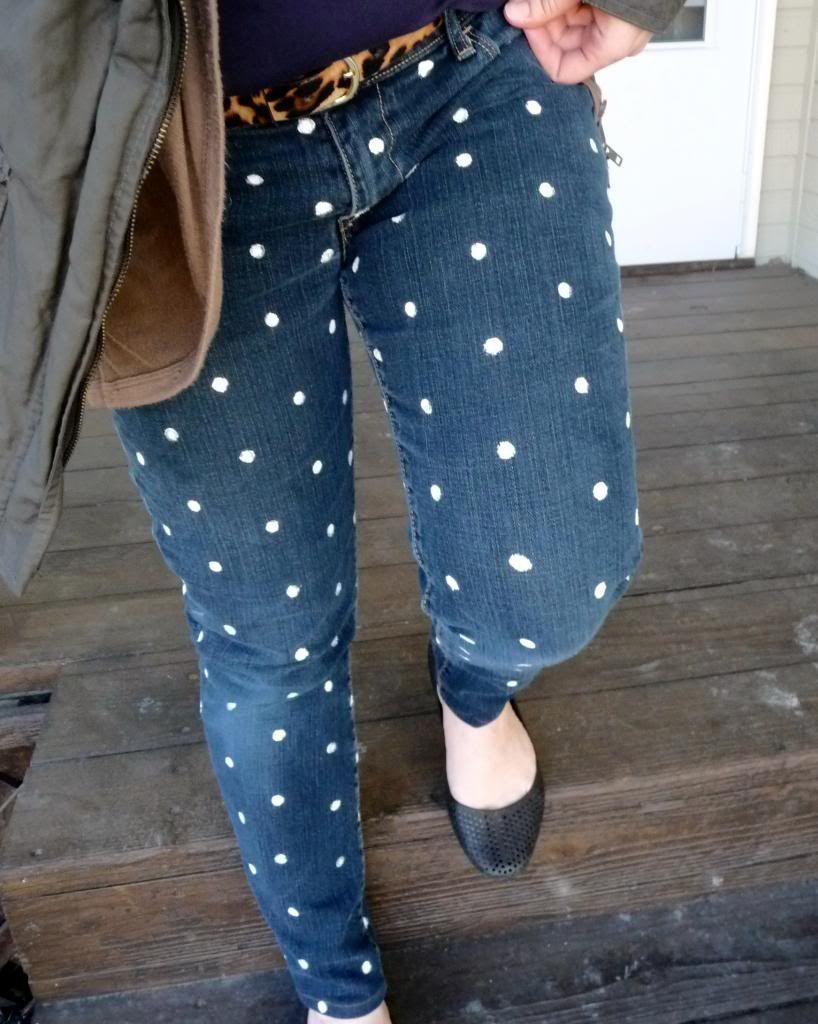 polka dot jeans | DIY/Crafting | Pinterest | Polka dot jeans, Dots ...