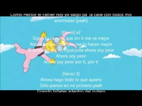 Bad Bunny Soy Peor Letra This song is by cardenales de nuevo león and appears on the album fuego contra fuego (1994) and on the album lo mas ranchero de. bad bunny soy peor letra
