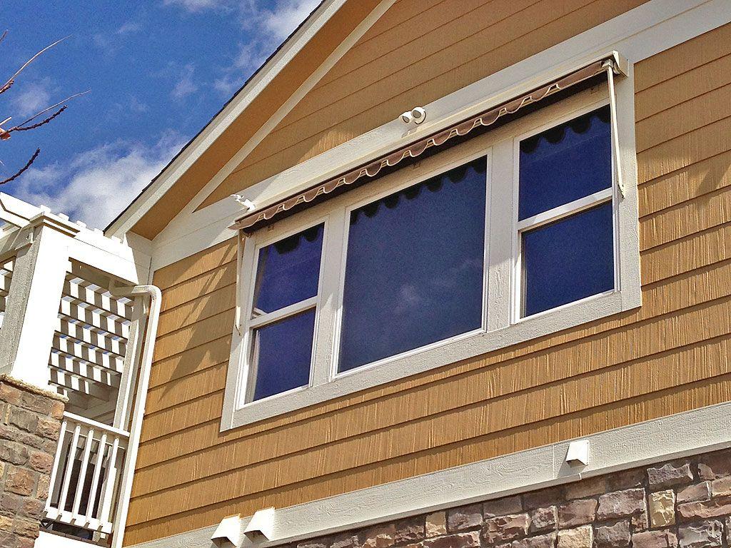 Robusta Heavy Duty Retractable Window Awning Fabric Window Awnings