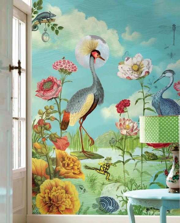 fantastische blumen welt mit farbenpr chtigen bewohnern. Black Bedroom Furniture Sets. Home Design Ideas