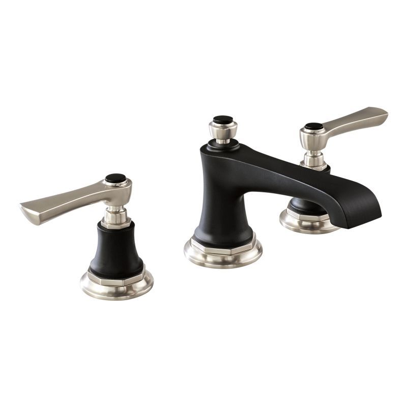 Brizo 65360LF-LHP-ECO Rook Widespread Bathroom Faucet with Pop-Up ...