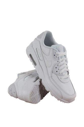 cheap for discount c17f9 d75d5 Nike Air Max 90 Ltr Gs Big Kids 833412-100 White Athletic Shoes Youth Size  6.5   ZenMyShop7   Nike air max, Nike, Air max 90