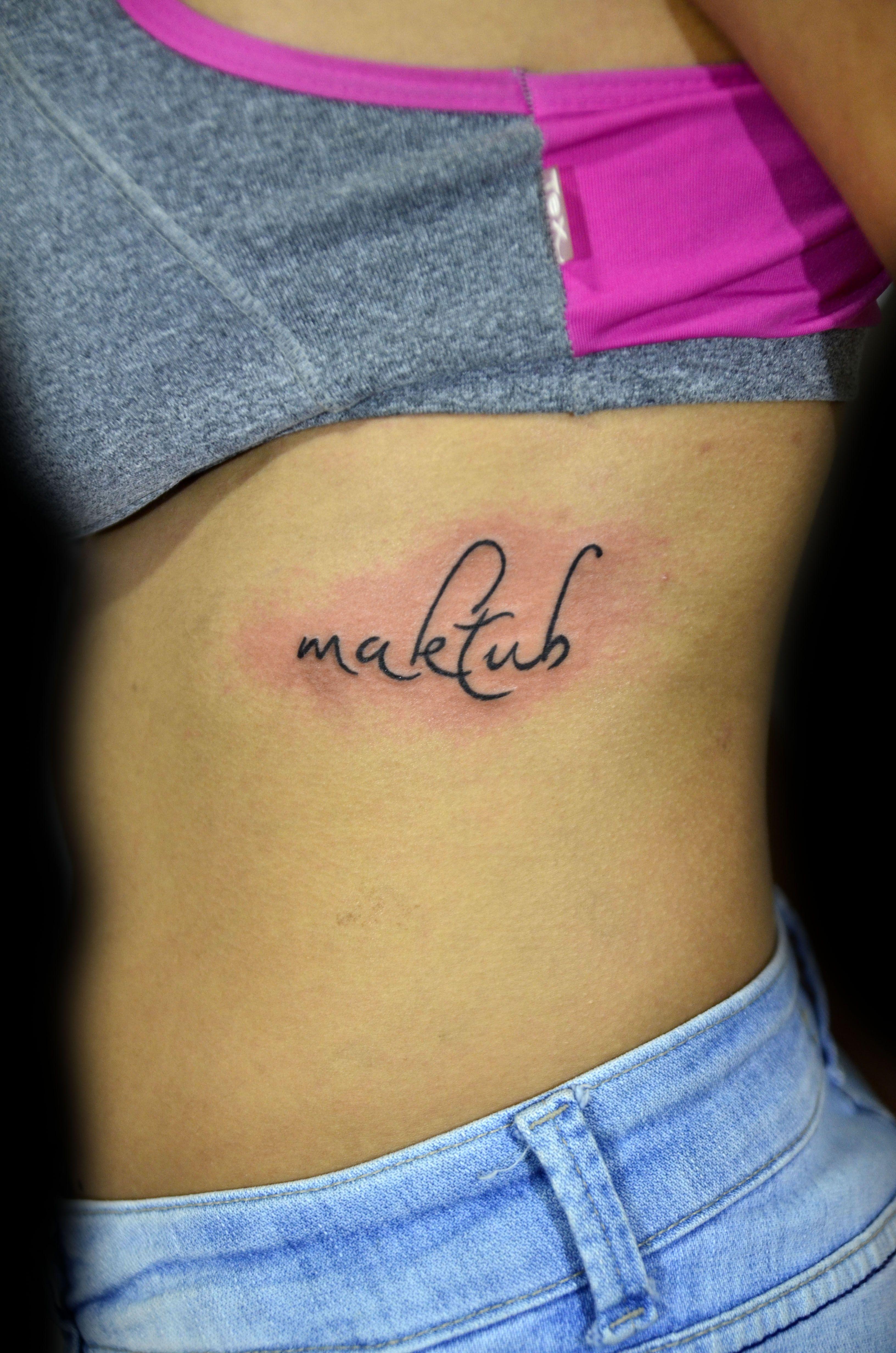 Maktub Tatuaje Eugenia Suarez Sfb
