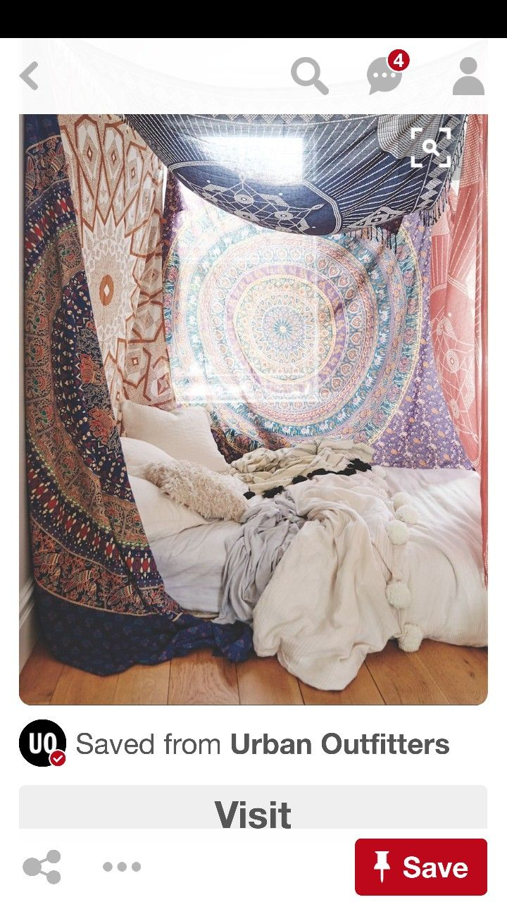 Pin by sk on お気に入り pinterest hippie bedding bedrooms and