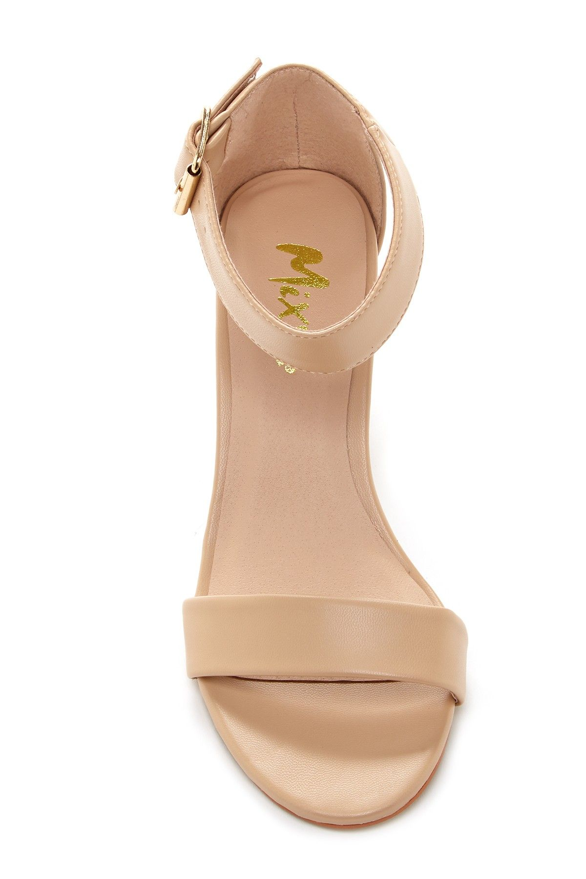 Mixx Shuz - Ava Block Heel Sandal is now 0-25% off. Free Shipping on orders over $100.