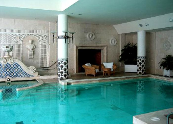 Roma The Cavalieri Hilton Otelinin Grand Spa Cool Pools Home