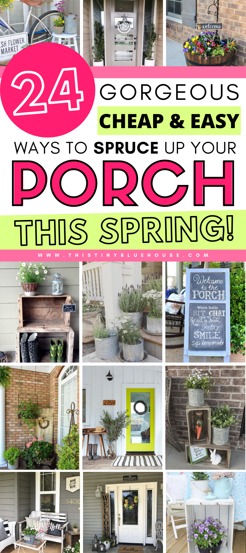 14 Stunning DIY Spring Porch Ideas in 14  Spring diy, Spring