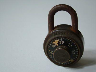 Vintage Dial Lock / アンティーク ダイヤルロック ダイヤル式南京錠 #Diallock