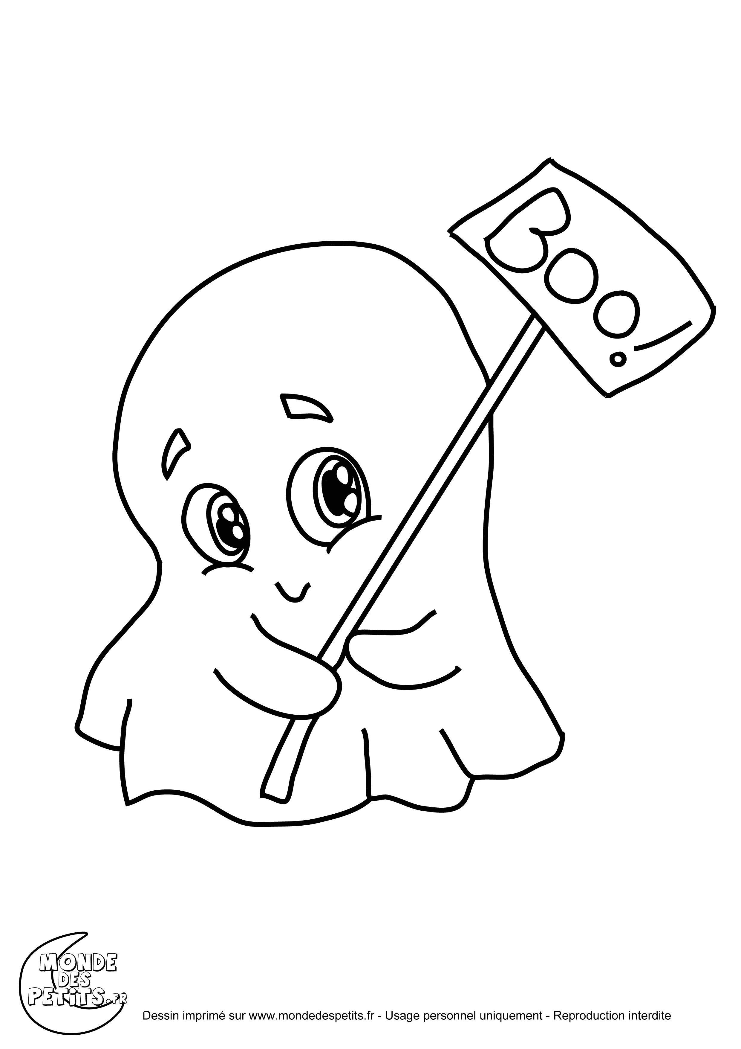 10 Remarquable Dessin D Halloween Qui Fait Peur Image Coloriage