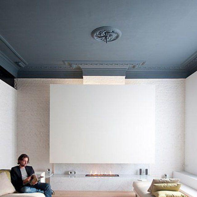 Osez Le Plafond Coloré   Plafond, Marie Claire Maison Et Marie Claire