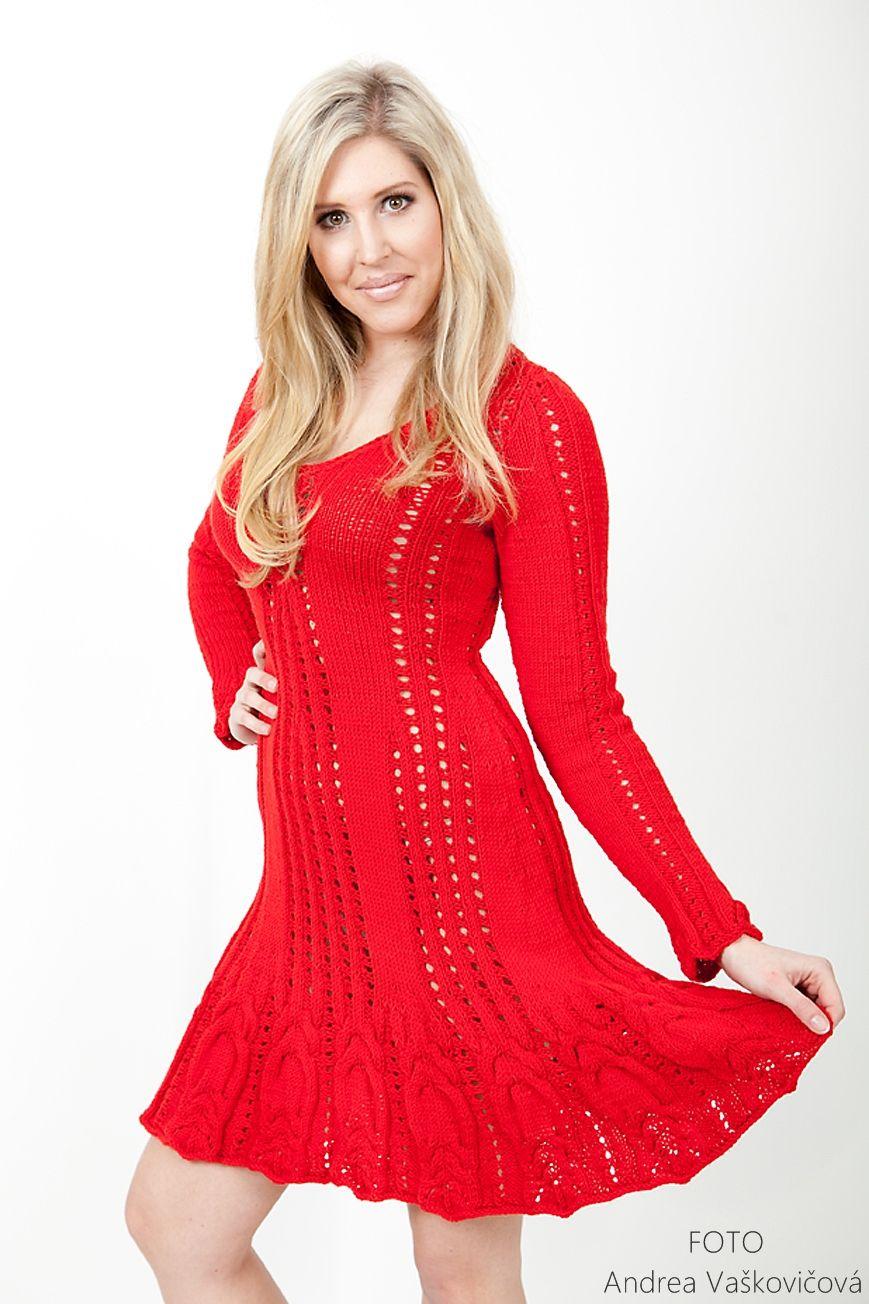 1a1b09466223 Pletené šaty Bloody Mary - 36 38-40 Nová jarně-letní kolekce pro rok ...