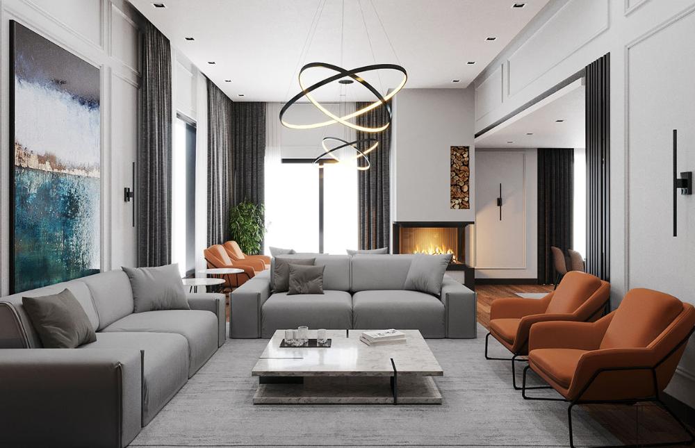 Acarkent Villa Projesi | Modern Villa Tasarımları Two Plus Architects