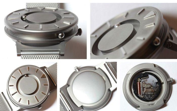 Un nuevo reloj para ciegos, nominado a mejor diseño del año La creación bautizada como 'The Bradley', en honor a un soldado que quedó ciego en Afganistán, triunfa entre los que sí que ven