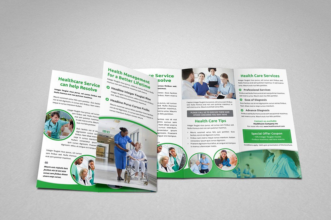 what is psd medical condition medical healthcare trifold brochure #idml#illustrator