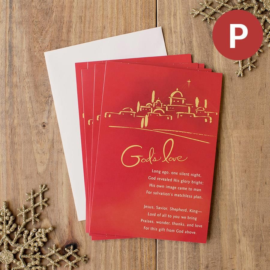 One Silent Night 18 Christmas Personalized Boxed Cards Homes