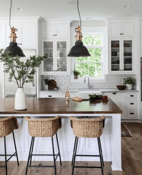 25 Awesome Farmhouse Kitchen Design Kitchen Design Countertops Home Decor Kitchen Farmhouse Kitchen Design