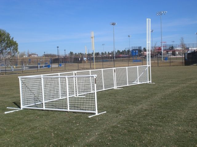 pvc pipe fence sport fence is a light weight temporary fence or crowd control barrier