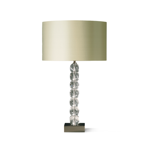 Porta Romana Ice Cube Lamp Has Become An Iconic Porta Romana Piece There Are Imitators But None Have The Gorgeous Weighty Nature Cube Lamps Lamp Table Lamp