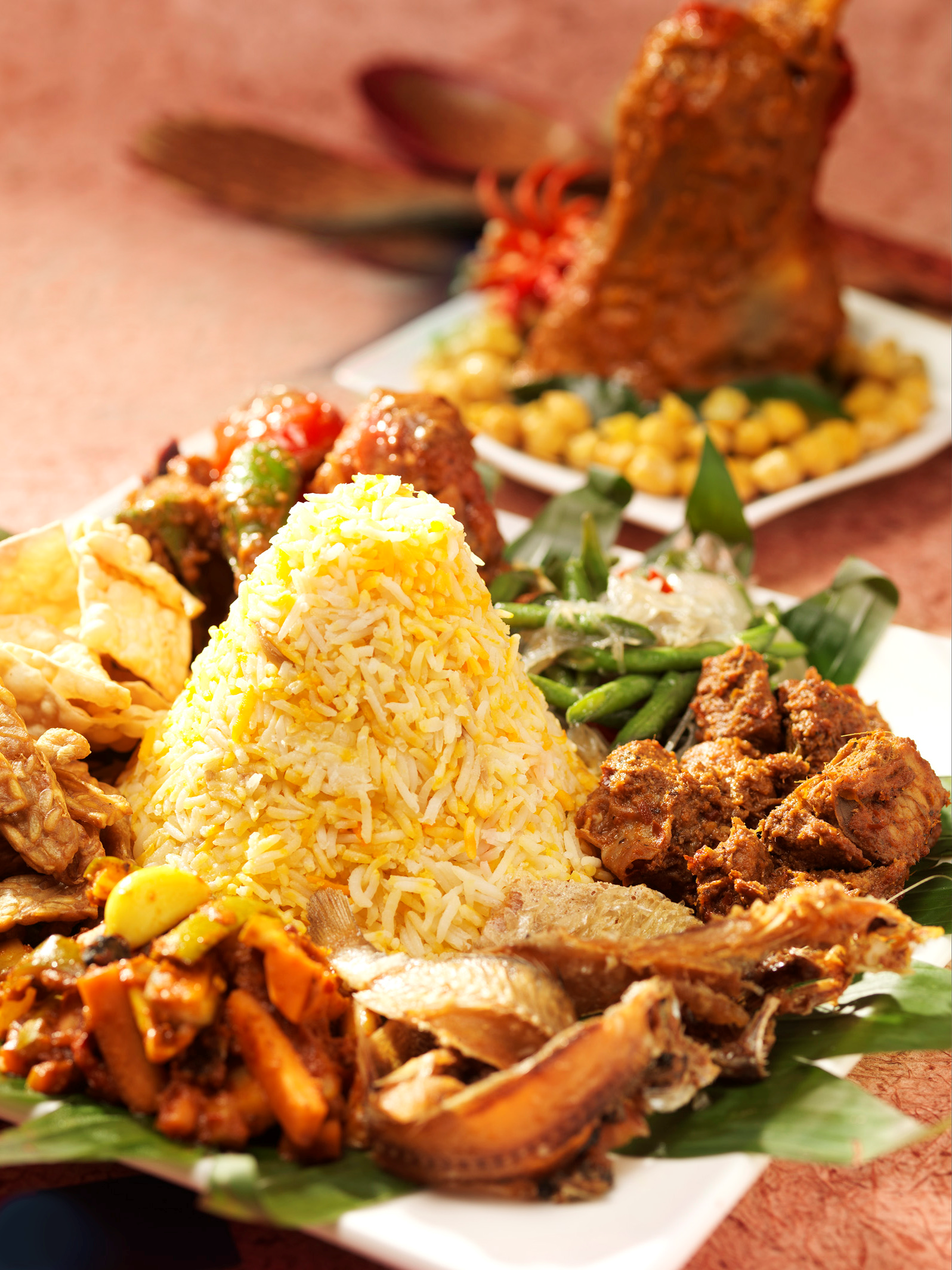 Stage Cuisine Nasi Beriyani A Popular Rice Dish And Staple Of Mughlai Cuisine