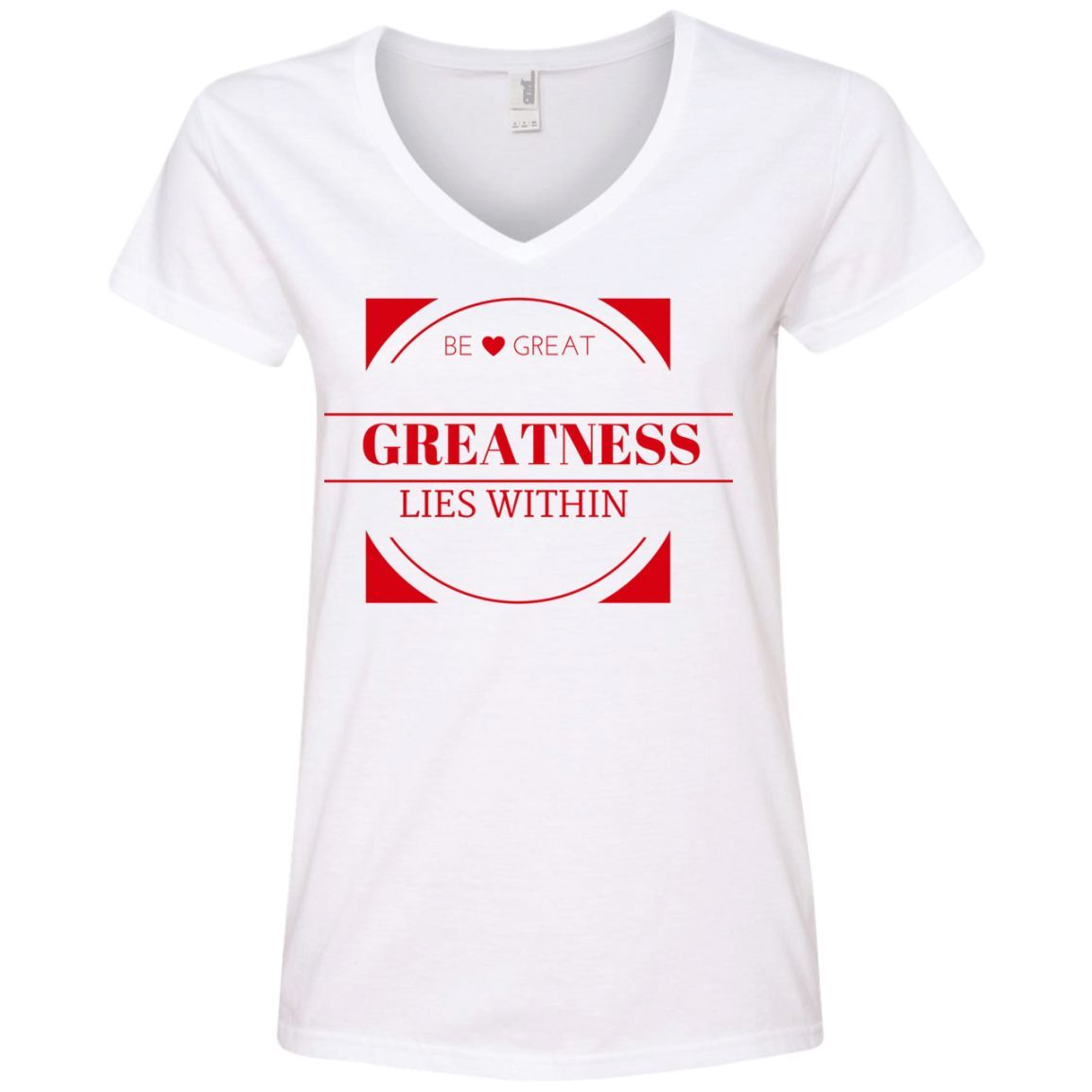 Ladies' V-Neck Tee