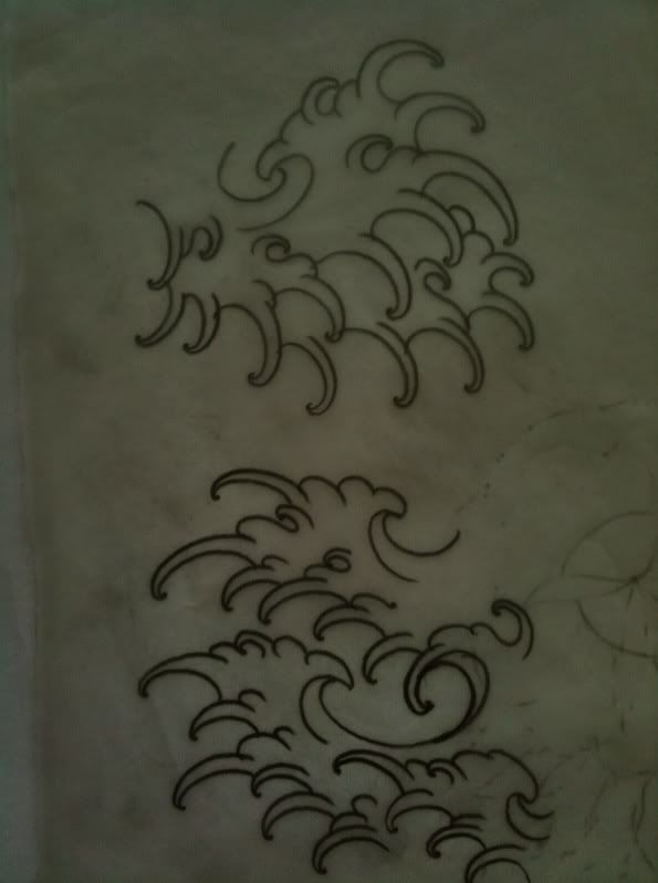 Finger Wave Tattoos : finger, tattoos, Finger, Waves, Ideas, Japanese, Tattoo,, Oriental, Tattoo
