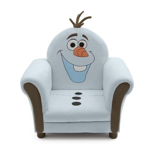 Amazon Com Disney Frozen Upholstered Chair Olaf