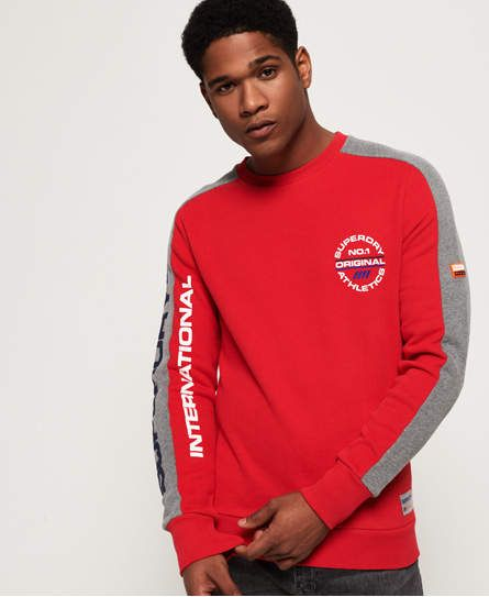 e4445ef822 Superdry Trophy Tri Colour Sweatshirt in 2019