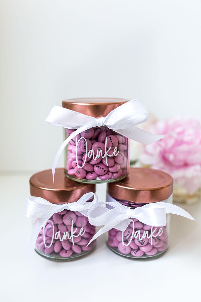 Geschenkgläser Gastgeschenk #weddinggift