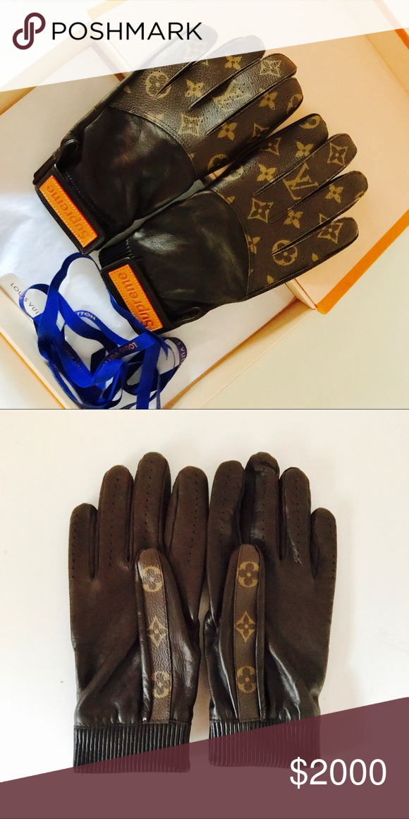Supreme X Louis Vuitton Baseball Gloves Nwt My Posh Picks Pinterest