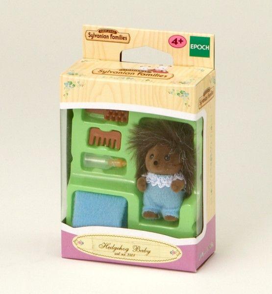 Sylvanian Families Igel Baby Junge Figur mit Zubehör - Bonuspunkte sammeln, auf Rechnung bestellen, DHL Blitzlieferung!