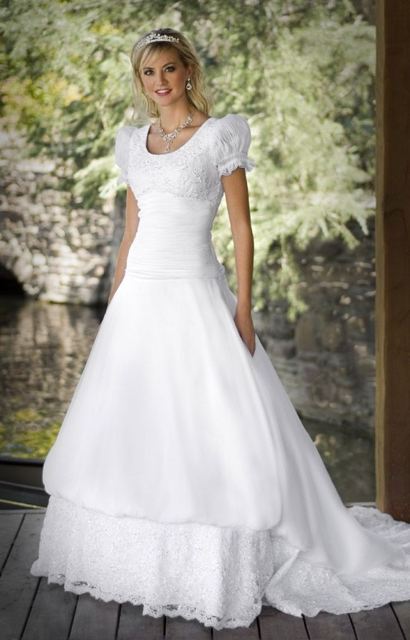 Eternity Gowns (8701) Tiny Matte Satin pleating creates the drop ...
