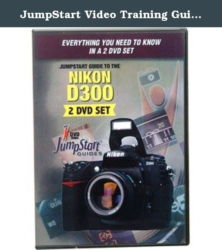 Jumpstart video training guide on dvd for the nikon d70 digital camera.
