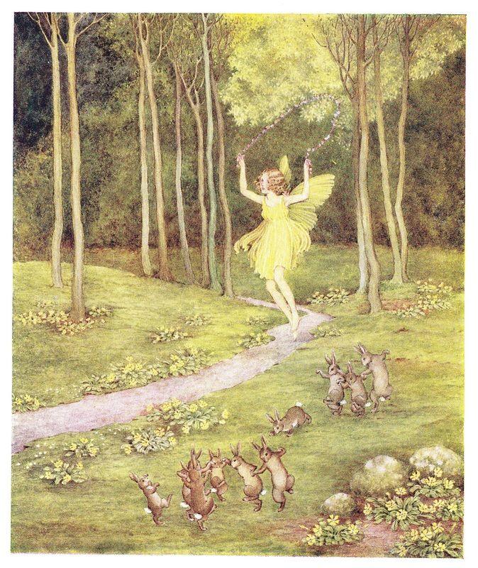 Ida Rentould Outhwaite - A Spring Fairy