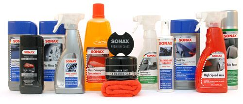 Sonax Car Care Products