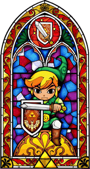 The Legend of Zelda stained glass window  sc 1 st  Pinterest & The Legend of Zelda stained glass window | Stained glass | Pinterest ...