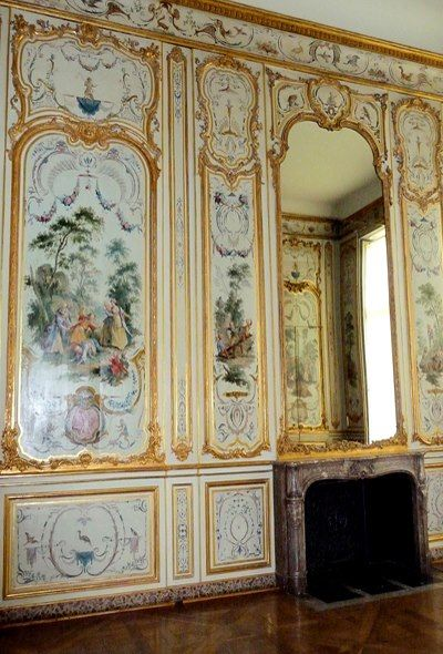 h tel de rohan cabinet des singes paris france meubles boiseries int rieur louis xv. Black Bedroom Furniture Sets. Home Design Ideas